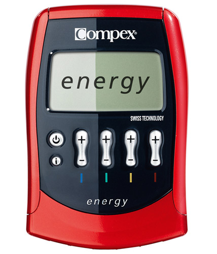 POWERY/® Batteria per stimolatore Muscolare Compex Energy Mi-Ready